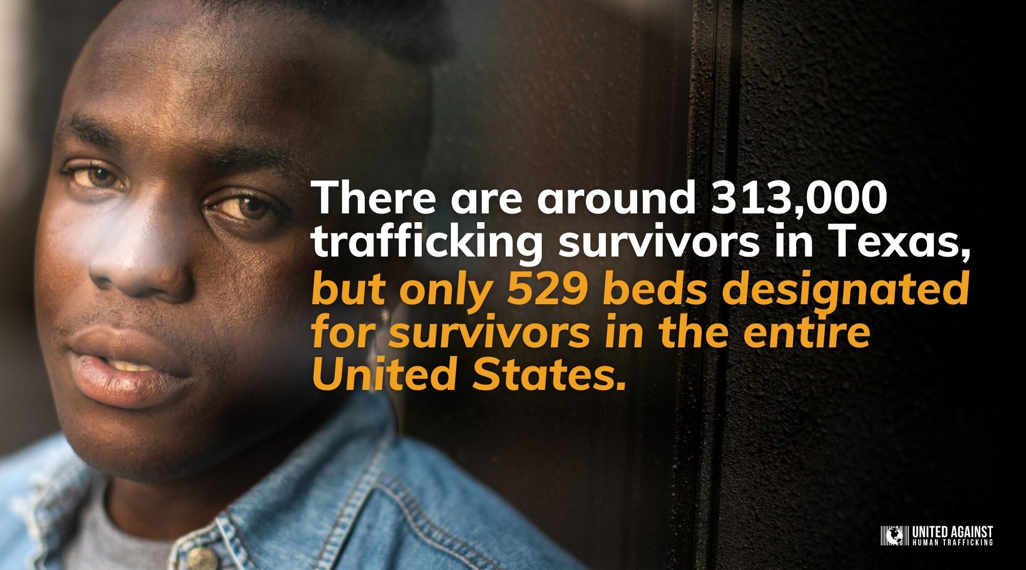 There are around 313,000 trafficking survivors in Texas, but only 529 beds designated for survivors in the entire United States