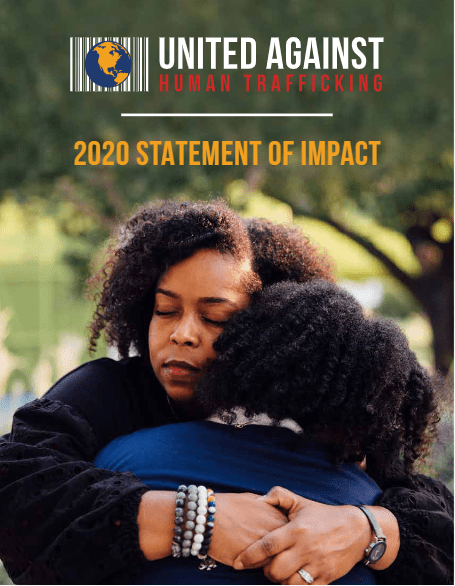 United Against Human Trafficking Impact Report Cover Photo