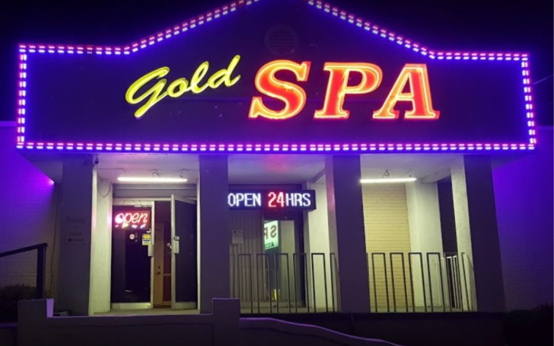 Gold Spa in Atlanta Front for Brothel