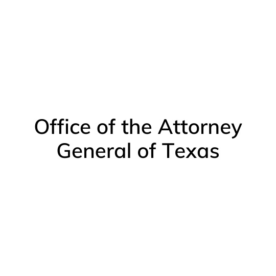 Office of the Attorney General of Texas Houston Rescue and Restore Coalition Member
